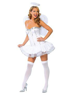 Adult Sexy Heaven Sent Angel Costume