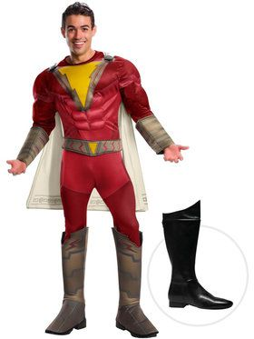 Adult Shazam Costume Kit