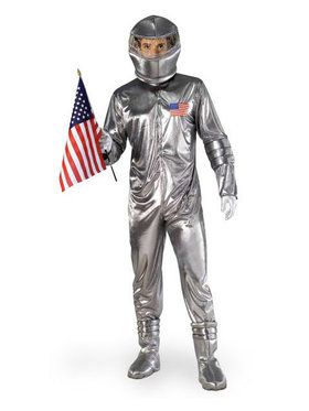 Adult Silver Astronaut Costume