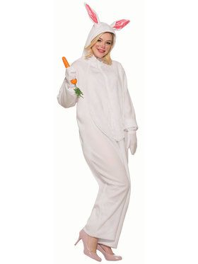 White Bunny Adult Costume