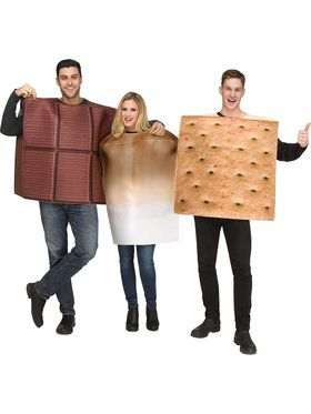 Couples S'Mores Costume
