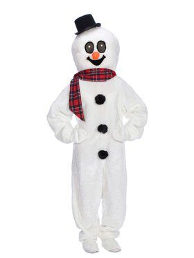 Adult Snowman Suit Costume