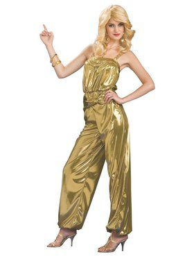 Solid Gold Diva Costume for Adult