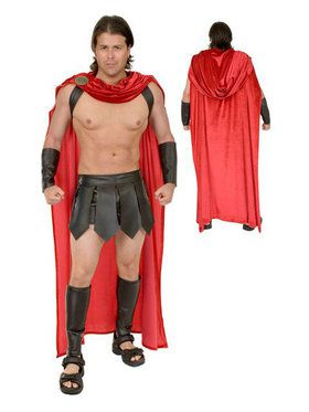 Adult's Complete Spartan Warrior Costume