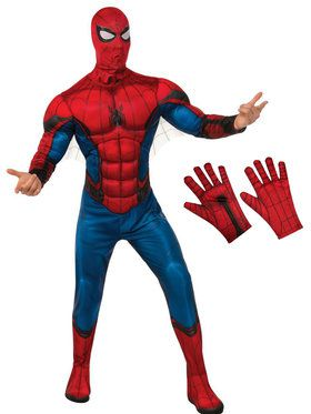 Adult Spiderman Costume Kit