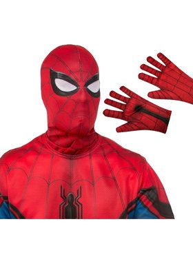 Adult Spiderman Mask and Gloves Costume Accessory Kit