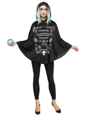Spirit Board Poncho Adult Costume