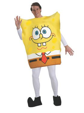 Spongebob - Halloween Sensation Spongebob Adult Costume