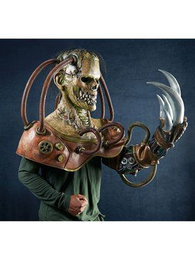 Adult's Steampunk Frankenstein's Monster Mask