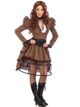 Adult Steampunk Women's Costume