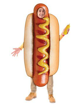 Hotdog Costume for Adults