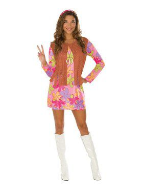 Sunshine Hippie Costume for Adult
