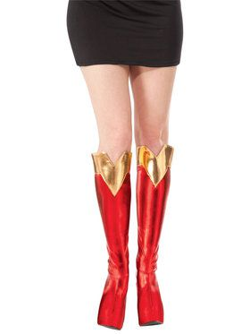 Adult Supergirl Boot Covers