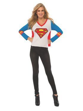 Adult Supergirl Sport T - Shirt