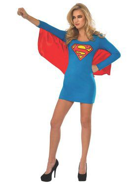 Supergirl Wing Dress Costume for Adult