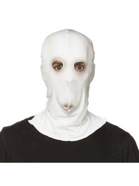 Them Creepy White Adult Mask