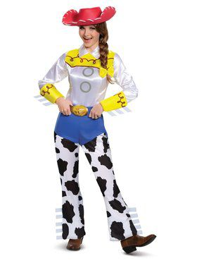 Toy Story 4 Jessie Deluxe Womens Plus Costume