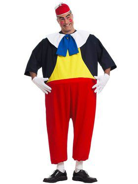 Adult Tweedle Dee Costume