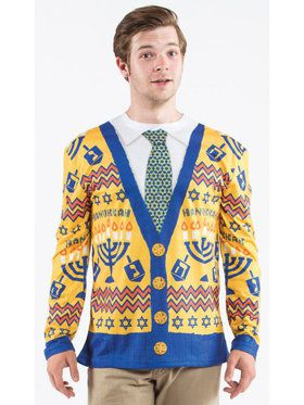 Adult Ugly Hanukkah Sweater Shirt