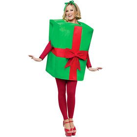 Adult Unisex Gift Box Costume