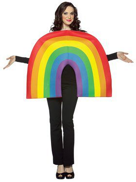 Adult Unisex Rainbow Costume
