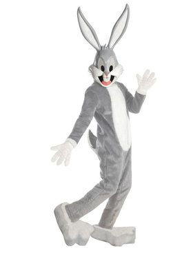 Adult Unisex Supreme Edition Bugs Bunny Mascot Costume