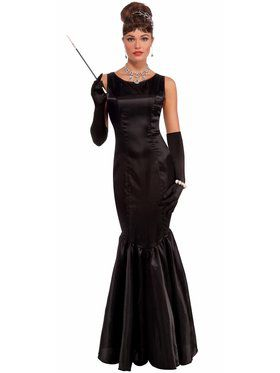 Adult Vintage Hollywood High Society Womens Costume