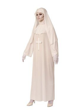 White Nun Costume for Adults