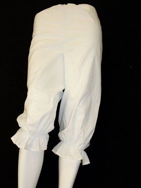 Adult White Rag Doll Bloomers