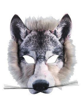 Wolf Mask For Adults