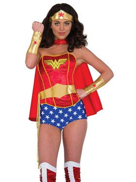 Wonder Woman Deluxe Accessory Set for Adults