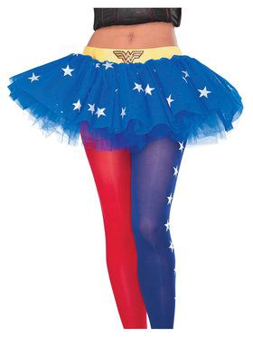 Wonder Woman Tutu Skirt for Adults