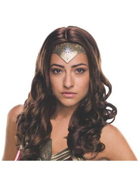 Wonder Woman Costume Wig for Adults