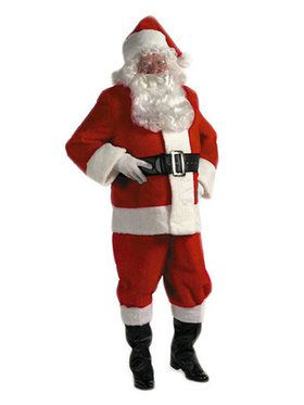 Adult Xx Large Rental Quality Santa Suit