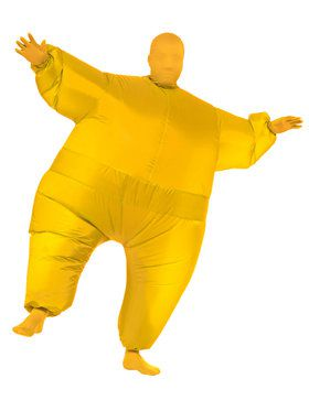 Yellow Inflatable Adult Costume