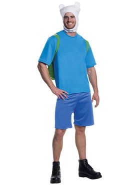 Adventure Time Finn Deluxe Men's Costume