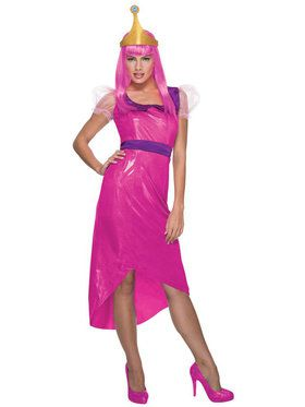 Adventure Time Princess Bubblegum Women's Costume