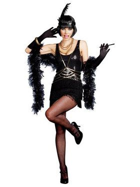 Ain't Misbehaving Sexy Flapper Costume