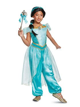 Aladdin's Deluxe Jasmine Child Costume