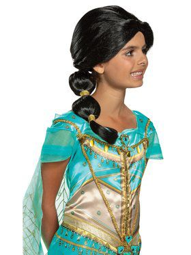Aladdin Princess Jasmine Child Wig