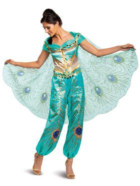 Adult Princess Jasmine Deluxe Plus Costume