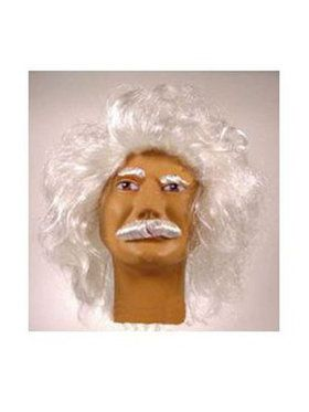 Albert Einstein Wig and Mustache