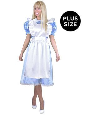 Adult Plus Size Alice Costume