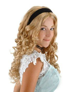 Alice In Wonderland Alice Wig Adult