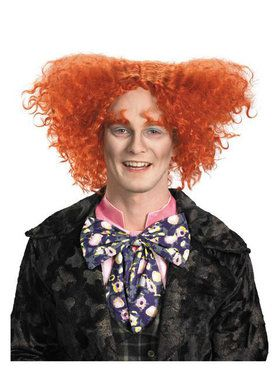 Alice In Wonderland Mad Hatter Wig Adult