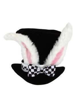 Alice In Wonderland White Rabbit Top Hat Adult