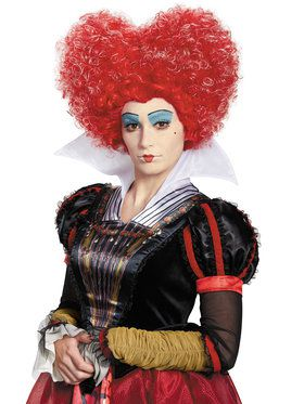 Alice Through The Looking Glass Adult Red Queen Wig
