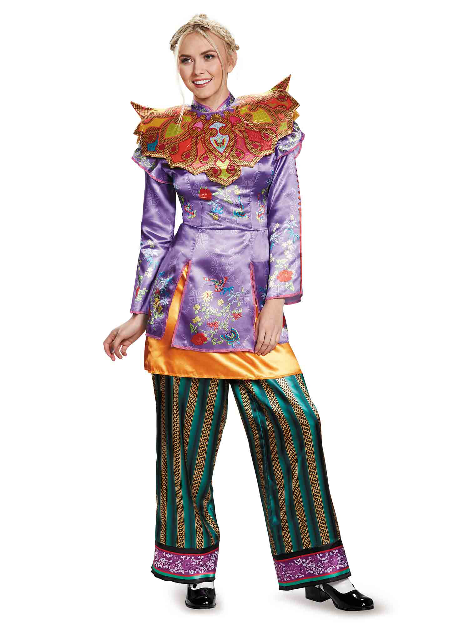 Adult Alice Through The Looking Glass Alice Asian Look Costume DI10153-L