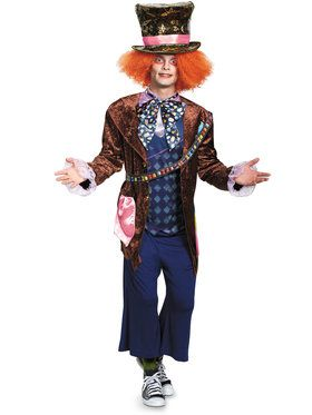 Alice Through The Looking Glass Mad Hatter Deluxe Adult Costume