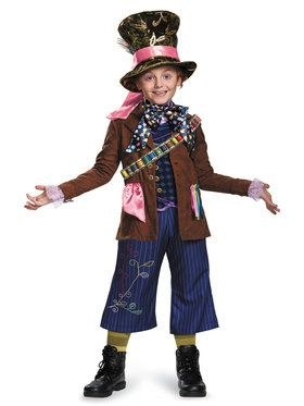 Alice Through the Looking Glass - Mad Hatter Prestige Boy's Costume